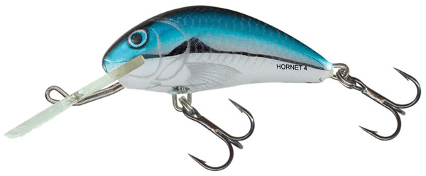 Leurre Salmo Hornet 4cm (4 options) - Silver Blue Herring (BHH)