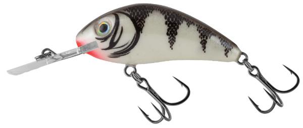 Salmo Rattlin Hornet 4,5 cm, Couleurs USA ! (choix entre 4 couleurs) - White Perch