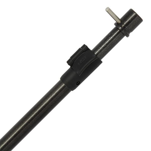 NGT Power Bore Aluminium Storm Pole avec T-Bar (choix entre 2 tailles)