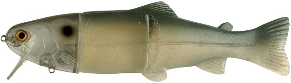 """Castaic Real Bait Hard Head 12"""" (choix entre 9 options) - Ghost Blue Shad"""