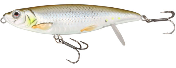 Savage Gear 3D Backlip Herring 10 cm (choix entre 6 options) - Green Silver