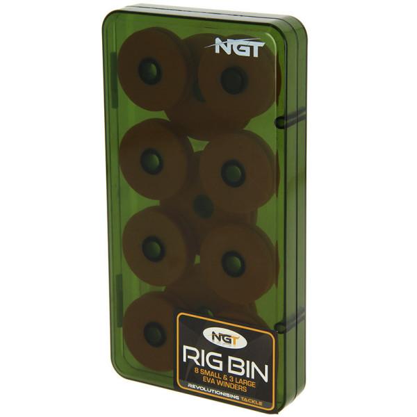NGT Rig Box avec 8+3 EVA Rig Winders