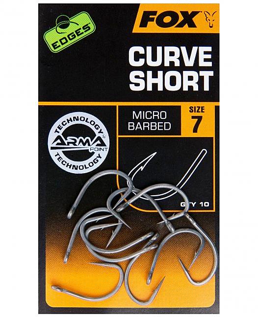 Fox Edges Armapoint Curve Shank Short taille 7