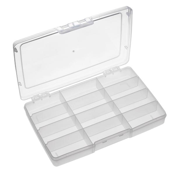 Panaro 191 Boîte de pêche 245 x 165 x 40 mm (choix entre 5 options) - 12 Compartiments