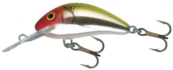 Leurre Salmo Hornet 5cm Floating (5 options) - Metallic Clown (MEC)