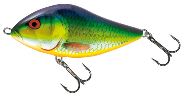 Salmo Slider 12 cm Floating (choix entre 3 options) - Holographic Psychedelic Roach (HPR)