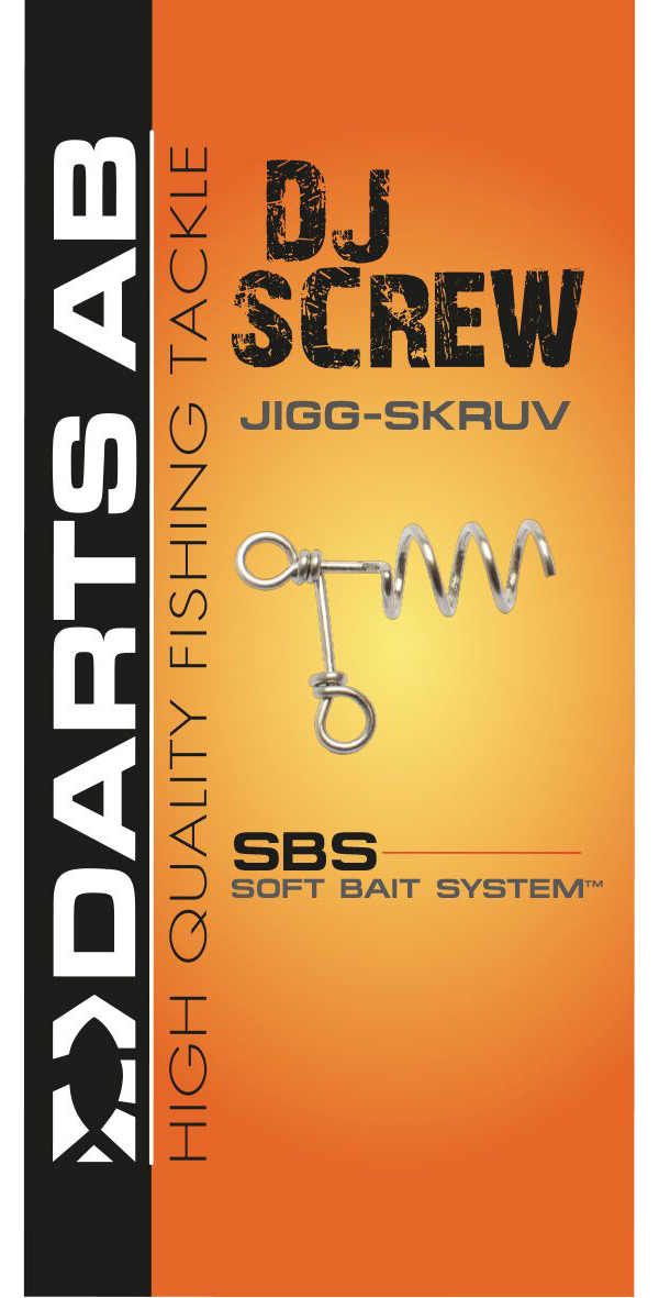 Darts DJ- Screw System, 3 pièces