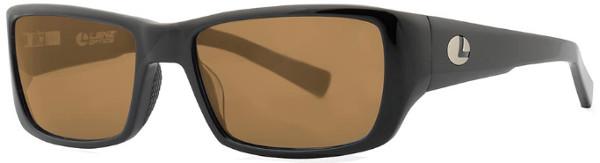 WOW! Lenz Optics Kaitum Lunettes de Soleil Polarisées (choix entre 4 options) - Black w/Brown Lens