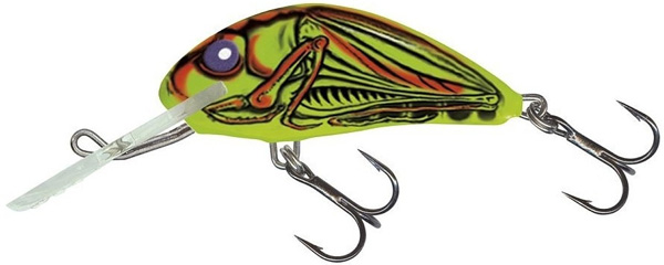Leurre Salmo Hornet 4cm (4 options) - Grasshopper (GRH)