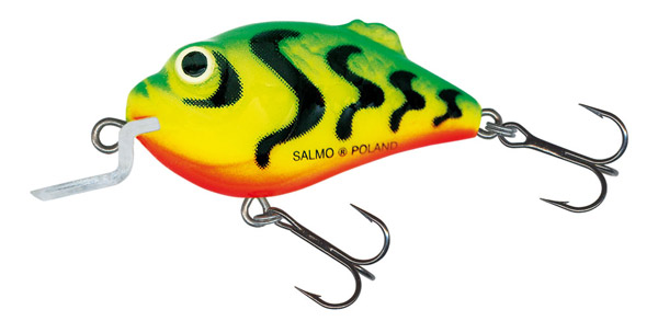 Salmo Boxer 4,5 cm Green Tiger (choix entre 2 options)