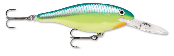 Rapala Shad Rap 07 (choix entre 10 options) - Caribbean Shad