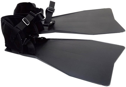 Pike 'N Bass Belly Boat Fin Set