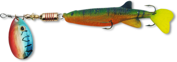 Zebco Minnow Flyer (choix entre 12 options) - Green/Red