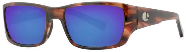 WOW! Lenz Optics Kaitum Lunettes de Soleil Polarisées (choix entre 4 options) - Havanna Brown w/Blue Mirror