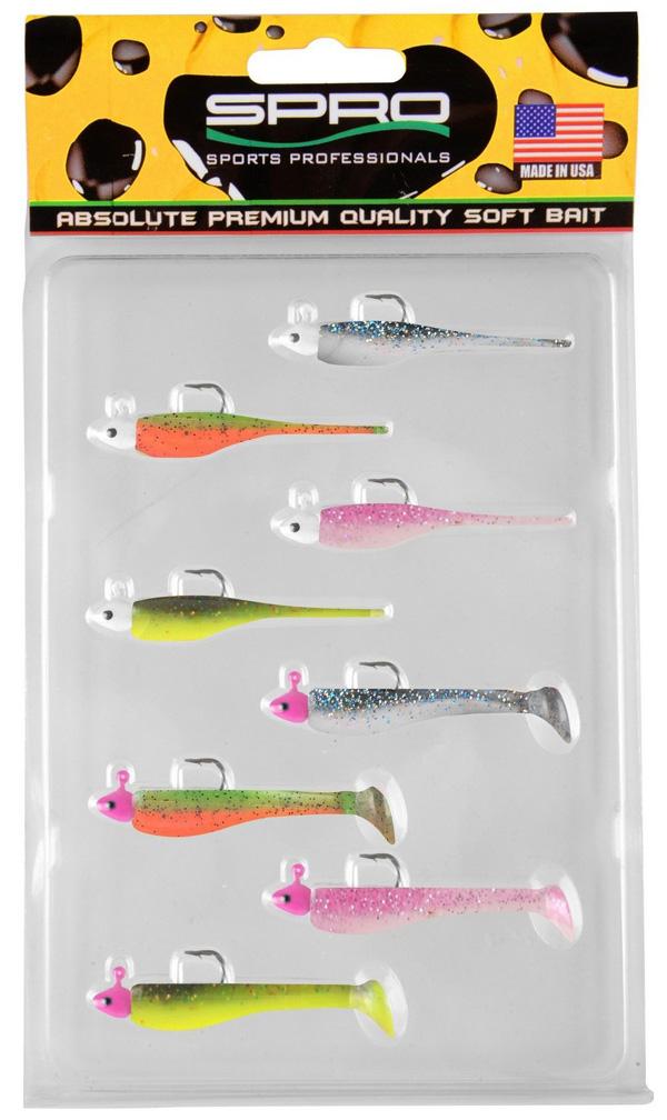 Spro Ready 4 Fish Kit 5 cm (choix entre 2 options) - Set G