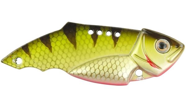 Spro Teppan Vib 21 et 28 gramme (Choix entre 20 options) - Green Perch