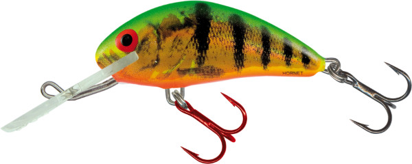 Leurre Salmo Hornet 4cm, couleurs USA! (26 options) - Holographic Fire Tiger