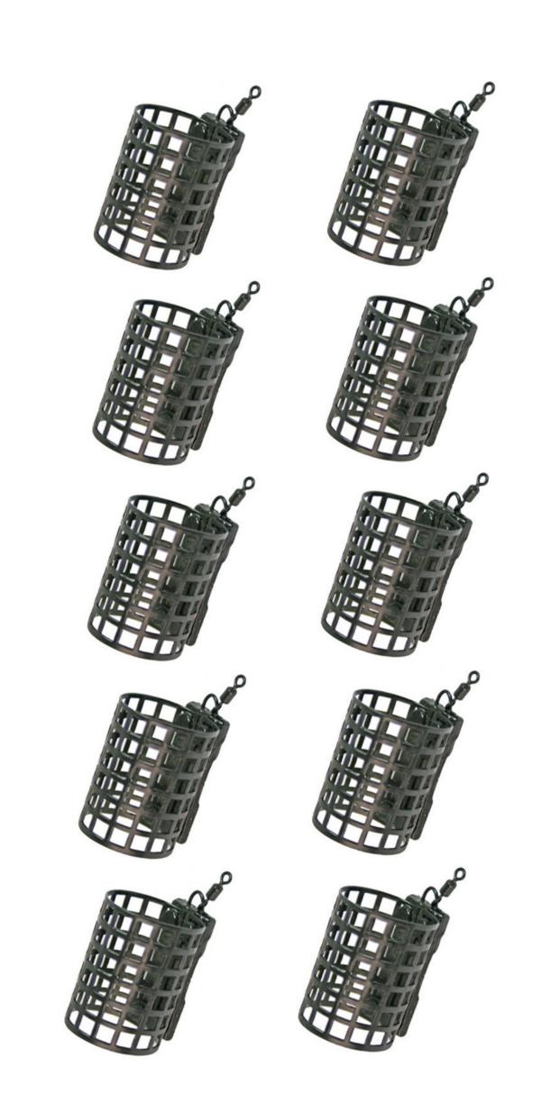 Image de 10 Cage Feeder NGT Metal (15, 20 or 25 grammes)
