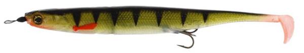Westin KickTeez Shadtail 15 cm Rigged, 2 pièces (choix entre 7 options) - Striped Perch
