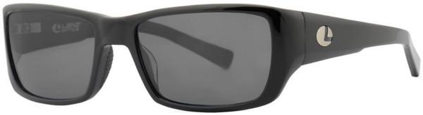 WOW! Lenz Optics Kaitum Lunettes de Soleil Polarisées (choix entre 4 options) - Black w/Grey Lens