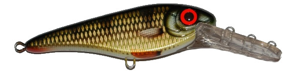 Strike Pro Buster Jerk II Deep Crank (choix entre 6 options) - C382 (Golden Perch)