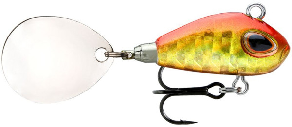 Storm Gomoku Jig Spinner (choix entre 3 options) - Holo Gold Red