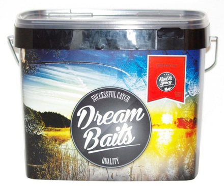Dreambaits Red&Spicy Readymades Bucket 6 kg 20mm