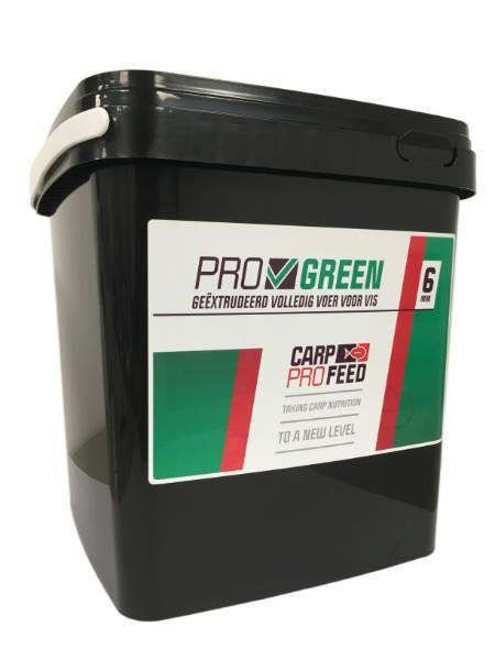 Carp Pro Feed Pellets 6 mm (choix entre 3 options) - Green