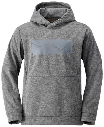 Shimano Xefo Windproof Hoody Tungstène (disponible en M jusqu'à XL)