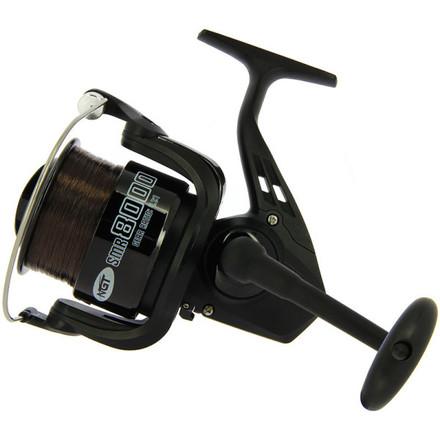 NGT SMR 8000 Spod/Marker moulinet avec nylon