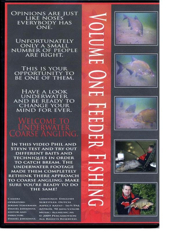 Image de DVD Underwater Coarse Angling Volume One: Feeder fishing