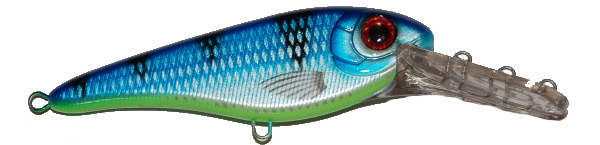 Strike Pro Buster Jerk II Deep Crank (choix entre 6 options) - C390 (Ocean Blue)