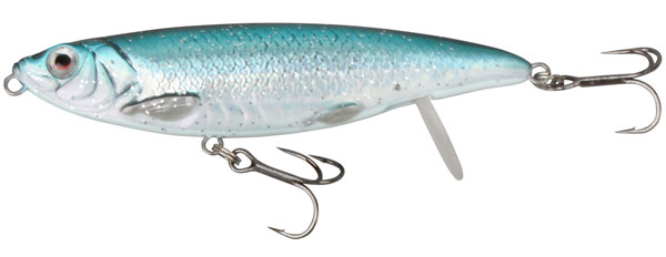 Savage Gear 3D Backlip Herring 10 cm (choix entre 6 options) - Blue Silver