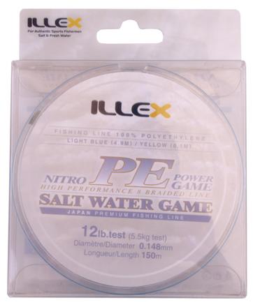 Illex Nitro PE Power Game High Performance Braid (choix entre 3 options)