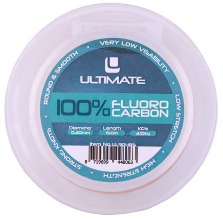 Ultimate 100% Fluoro Carbone, 150 m (choix entre 7 options)