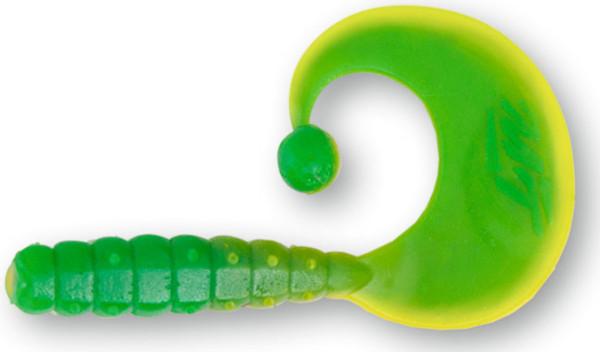 Quantum Magic Trout Curly B-Bobbles, 35 pièces ! (choix entre 10 options) - Yellow/Green