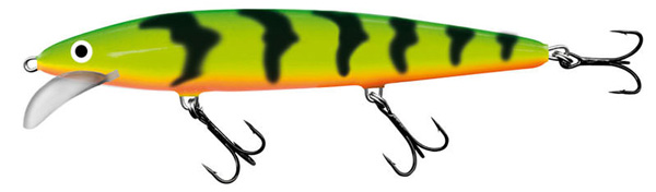 Salmo Whacky 9 cm, Green Tiger!