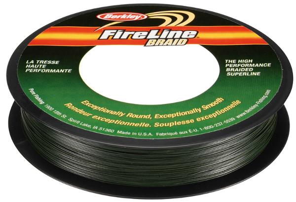 Tresse Berkley Fireline Verte (5 options)