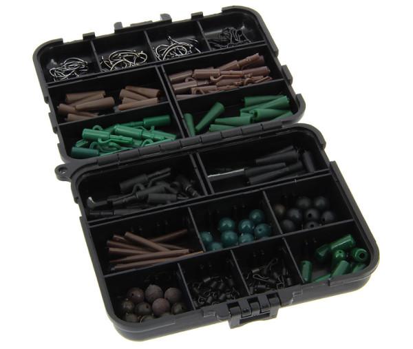 Image de 170 x NGT d'accessoires carpe + 4 boites de rangement