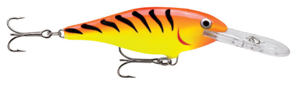Rapala Shad Rap 07 (choix entre 10 options) - Hot Tiger