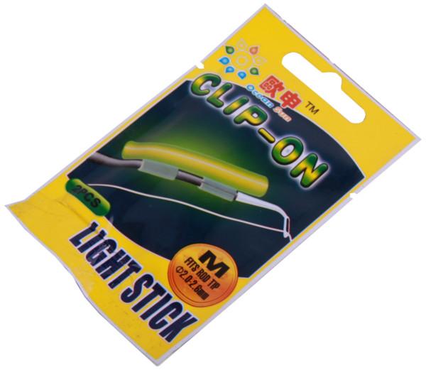 Image de 10 Clip On Light Sticks pour le bout de votre canne (choix entre 5 options)