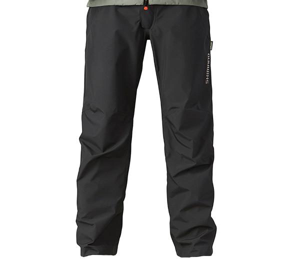 Shimano Gore-Tex Basic Trousers Noir (disponible dans les tailles L jusqu'à XXXL)