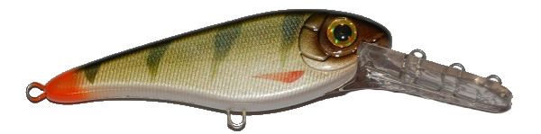 Strike Pro Buster Jerk II Deep Crank (choix entre 6 options) - C76 (Natural Perch)