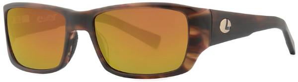 WOW! Lenz Optics Kaitum Lunettes de Soleil Polarisées (choix entre 4 options) - Havanna Gold w/Copper Mirror