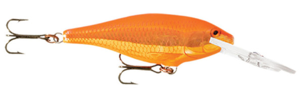 Rapala Shad Rap 07 (choix entre 10 options) - Goldfish