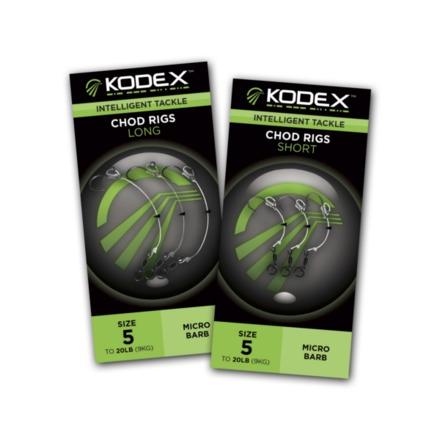 Kodex Chod Rigs 3 pièces (choix entre 6 options)