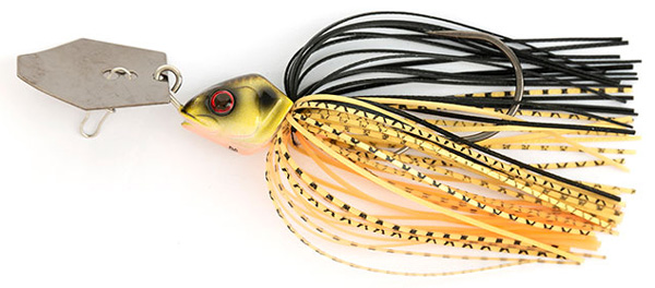 Fox Rage Bladed Jig Chatterbait (choix entre 12 options) - Black & Gold