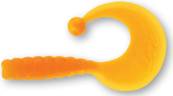Quantum Magic Trout Curly B-Bobbles, 35 pièces ! (choix entre 10 options) - Yellow/Orange