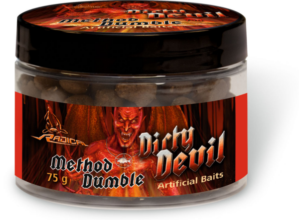 Radical Dirty Devil Method Feeder Baits (choix entre 2 options) - Dumbles