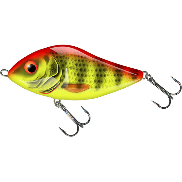 Salmo Slider 7cm Floating - Bright Perch